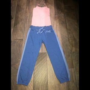Pink-Victoria Secret Jogging Pants
